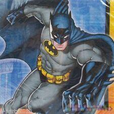 BATMAN LARGE NAPKINS (16) ~ Birthday Party Supplies Dinner Luncheon Superhero DC