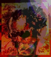 """MARCO MARK -  """"MILES DAVIS""""   JAZZ    GICLEE  SIGNED    EDITION OF 10  ON CANVAS"""