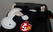Ty Beanie Baby ~ Daisy the Cow ~ Mint with Mint Tags ~ Retired