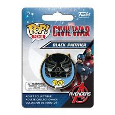 "MARVEL Captain America CIVIL WAR Licensed 1.5"" BLACK PANTHER POP! Pin"