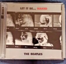 THE BEATLES LET IT BE NAKED 2 DISC CD GREAT CONDITION