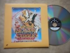 """BLAZING SADDLES"" LASER DISC MINT EXTENDED PLAY GENE WILDER GREAT COMEDY MOVIE"