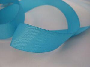 turquoise grosgrain ribbon matte 25m full reel 10mm 25mm crafts diy wedding