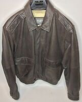Wilsons Leather Bomber Jacket (Men's M ) THINSULATE ULTRA - Zip Out Lining WARM