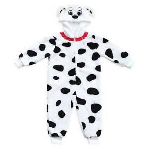 New Disney Store 101 Dalmatians Costume Sleeper Zip Up Pajama Kids Many sizes