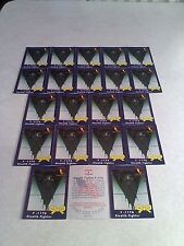 *****F-117A Stealth Fighter*****  Lot of 60 cards.....3 DIFFERENT