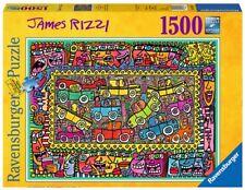 RAVENSBURGER 16356 JAMES RIZZI DE CAMINO A VUESTRA FIESTA PUZZLE 1500 PIEZAS