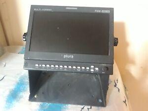 Plura pbm-209-3g - mutiformatmonitor HDSDI/HDMI/DVI/RGB/SDI with waveformer