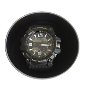 Casio G-Shock Mudmaster Men Watch Twin Sensor color black  GG-1000-1A