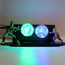 RARE Dragon Ball Z Gohan & Cell Power Up Led Light Lamp Action Figure Whole Set