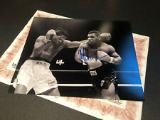 MIKE TYSON GENUINE SIGNED PHOTO AUTHENTIC AUTOGRAPH WITH COA