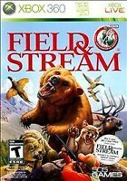Field & Stream: Total Outdoorsman Challenge (Microsoft Xbox 360, 2010) COMPLETE