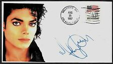 Ltd. Ed. Michael Jackson Commemorative Envelope repro auto. *A958