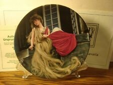 "Vintage Brothers Grimm ""Rapunzel"" Grimm's Fairy Tales Collectible Plate"