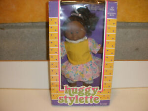 """Huggy Bean 12"""" Doll Huggy Stylette Style #88170 From 1992"""