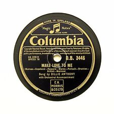 """BILLIE ANTHONY """"Make Love To Me / Bell Bottom Blues"""" (E+) COLUMBIA DB-3446 [78]"""