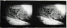 Delphes Grèce Stereo Félix Sartiaux 45x107mm Plaque pos ca 1911