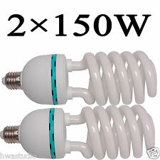 CL150x2 150W PhotoStudio Continuous Lights Photography Lamp Bulbs E27