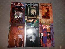 DC Vertigo Sandman Death Enigma Mystery Theatre Set Lot  Comic