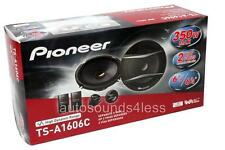 "Pioneer TS-A1606C 350 Watts 6.5"" 2-Way Car Component Speaker System 6-1/2"" New"