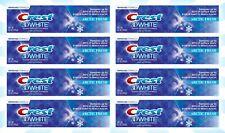 8 Crest 3D White Arctic Fresh Toothpaste 4.1 OZ