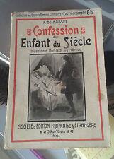 Alfred de MUSSET. Confession d'un enfant du siècle. ill. Breton. SEFE.