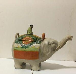 Japan Banko Elephant Teapot