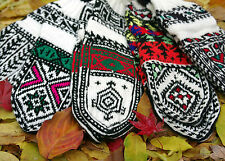 Hand Made Socks and Slippers with heels, Persian designs, Artisanal
