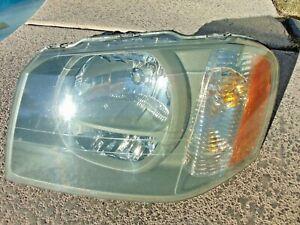 Passenger side WITH install kit 6 inch 2003 Isuzu ASCENDER Door mount spotlight -Black LED Larson Electronics 1015P9JBVF4