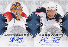 11-12 Artifacts Jacob Markstrom Auto Autofacts 2011