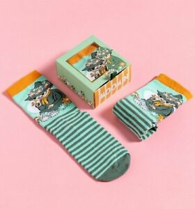 Official Moomin Snuffkin Stripe Socks