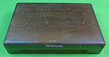 Antique Old Wooden EMPTY Box Case Storage for Flatware Dinner Set