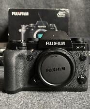 "Fujifilm X series X-T1 16.3MP Digital SLR Camera - Black (Body Only) ""Excellent"""