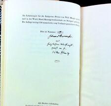 Eduard Reinacher ALEXIA Ein Gedicht EA 1922 19/150 num. signiert! Stuttgart