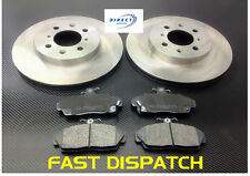 HONDA CIVIC 1995-2005 FRONT BRAKE DISCS & PADS - PADS WITH SPRING CLIP