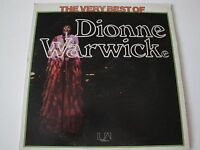 THE VERY BEST OF DIONNE WARWICK VINYL LP 1974 UNITED ARTISTS UA-EA337-G, STEREO