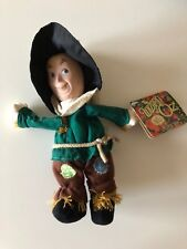 NEW with Tags Wizard of Oz Merry O Collection Plush Doll Scarecrow 1998