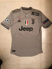 Cristiano Ronaldo Adidas Juventus 18/19 Jersey Champions L Real Madrid Dybala