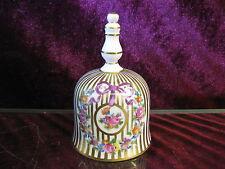 Dresden Potschappel Glocke Glöckchen Tischglocke Porzellan Top Zustand Buttler