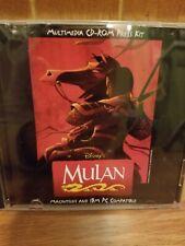 Disney's Mulan, Multimedia CD- Rom Press Kit