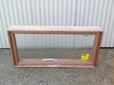600h x 1210w New Timber Meranti Awning Window Obscure Bathroom