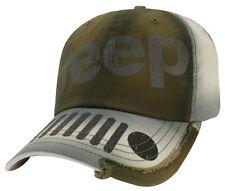 BRAND NEW JEEP WRANGLER JK JL SPORT RUBICON SAHARA WILLYS GRILLE HAT CAP! OEM