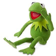 "Disney Store Muppets Kermit The Frog Plush Stuffed Animal 18"""