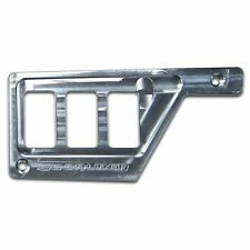 Raw Aluminum Polaris RZR XP1000 Left Side 3 Switch Dash Panel Side By Side Part