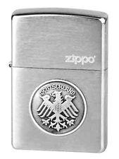 ☆ Zippo ® Feuerzeug Adler Deutschland Bundesadler Chrome brushed ☆