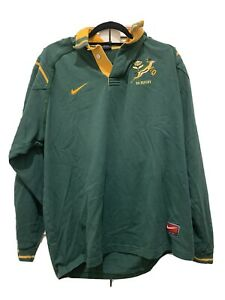 Rare Mens Rugby South Africa Jersey By Nike  Size XL