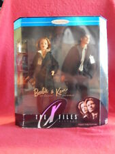 X Files - poupées Scully et Mulder