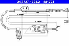 Câble frein frein à main - ATE 24.3727-1724.2