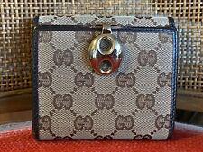 Vintage Gucci Change Purse Wallet Logo