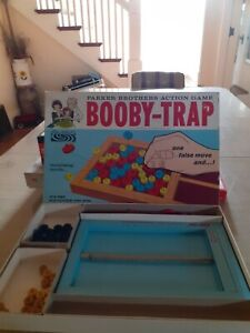 Booby Trap Vintage Parker Brothers Game 1965 Complete Nice! Rare!
